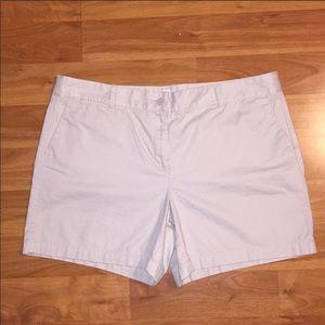 Loft khaki shorts